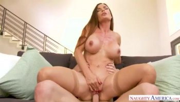 Latina girl roughly mouth fucked